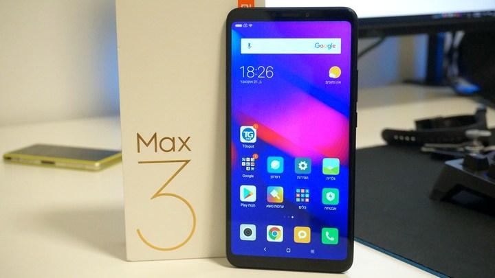 הקופסה של Mi Max 3
