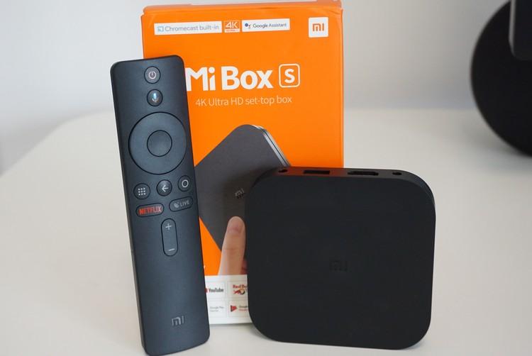 Mi Box S box