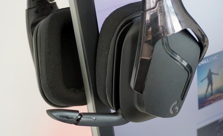 המיקרופון של אוזניות הגיימרים G635