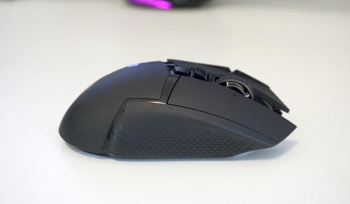Logitech G502 Lightspeed עכבר גיימרים מבט צד
