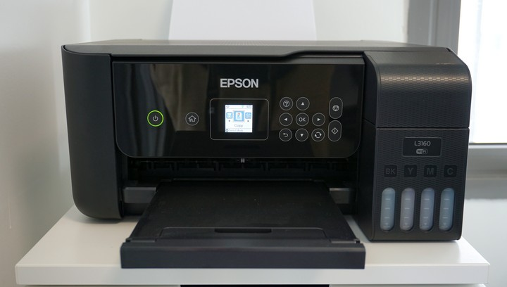 מדפסת משולבת Epson EcoTank L3160
