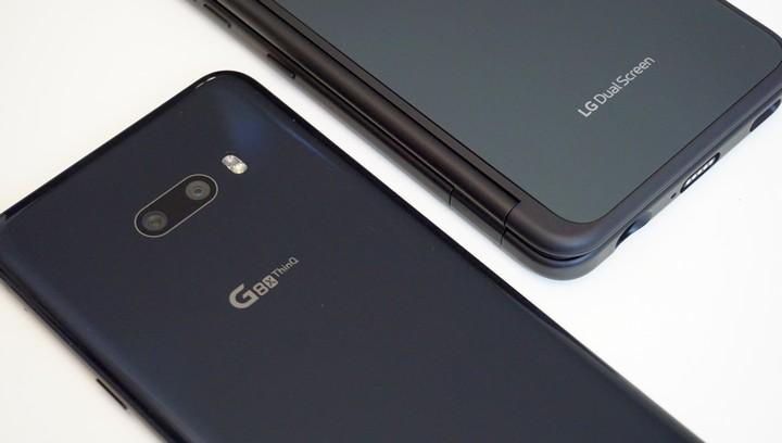 הכיסוי של LG G8X מסך כפול