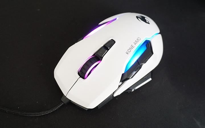 עכבר גיימרים Kone AIMO של רוקאט (Roccat)