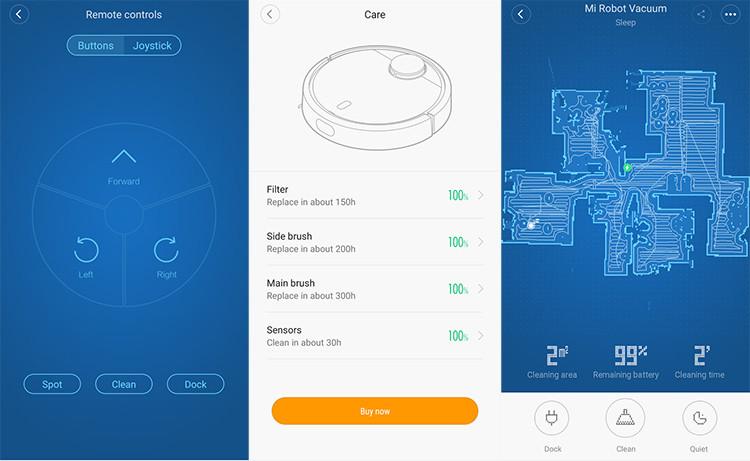 Mi Robot - אפליקציה חכמה לניהול השואב
